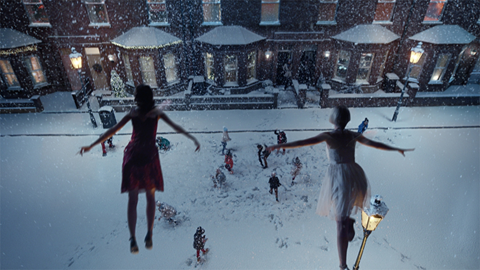 Xmas ads past marks spencer fairies