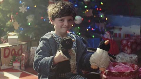 Stephen Foster: Sainsburys Christmas Advert Helps Ad