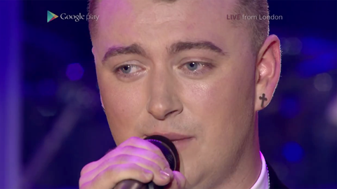 Live ad google play sam smith