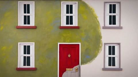 Dulux Seasons red door