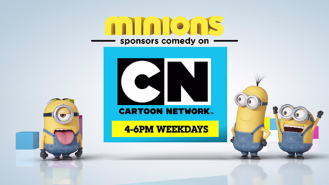Intro to spon cartoon network minions