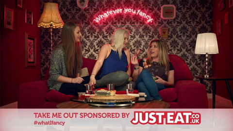 Sponsorship bumpers nutshell just eat take me out content tile