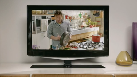 Contextual ads freeview jamie oliver