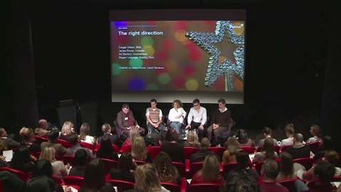 The Right Direction – a panel with advertising greats