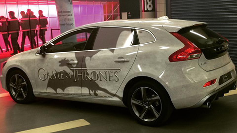 The partnership palette game thrones volvo